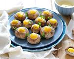 焗烤鹌鹑蛋口蘑