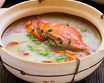 生滚螃蟹砂锅粥