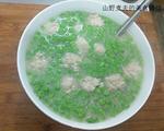 小豌豆肉丸汤