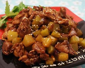 干果青笋兔肉
