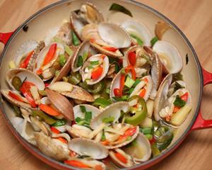泰式香茅青柠煮蚬