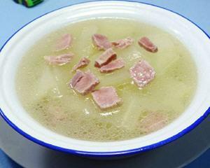 咸瘦肉冬瓜汤