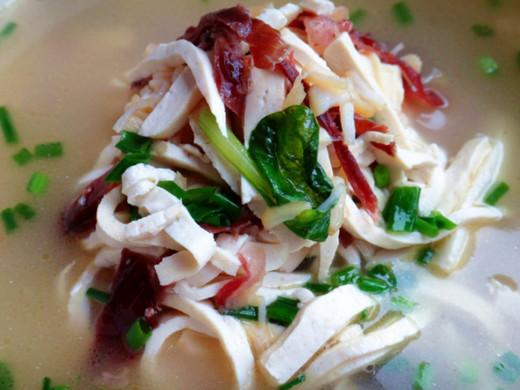 扬州煮乾丝