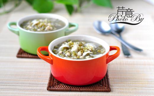 百合薏米绿豆汤