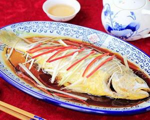 葱油黄花鱼