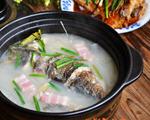 粉皮鲢鱼头砂锅煲