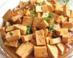 鲍鱼蚝油豆腐