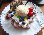 菠萝土司冰淇淋