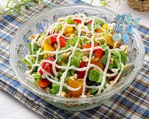 生菜甜椒沙拉