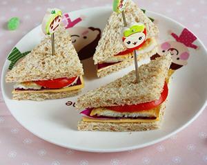 鲽鱼三明治