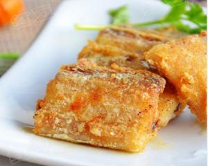 椒盐干煎带鱼