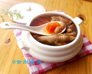 鸡爪猪骨木瓜汤