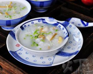 鲍鱼豌豆粥