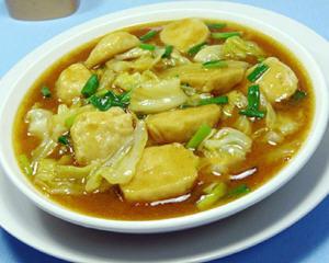 咖喱墨鱼丸圆白菜