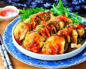 四川鱼香茄盒