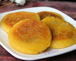 香糯南瓜饼