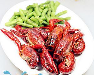 毛豆清水小龙虾