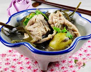 土豆海带排骨汤