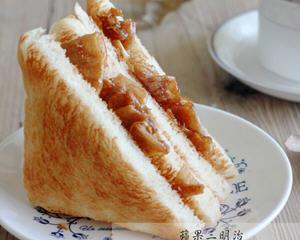 苹果三明治