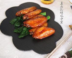 豆腐乳烤鸡中翼