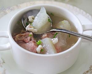 冬瓜薏米咸骨汤