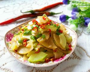 土豆西葫芦片