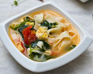 西红柿酸汤面