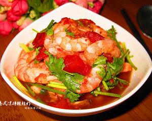泰式凉拌酸辣虾