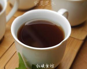 琼珍紫灵芝煮水的做法_图解治疗糖尿病的琼珍紫灵芝煮水怎么做