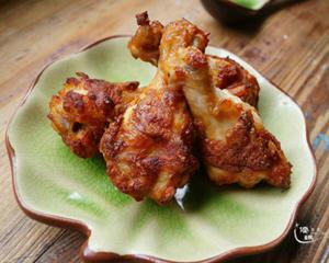 健康少油的蒜香炸鸡翅(空气炸锅)