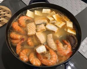 鲑鱼石狩锅