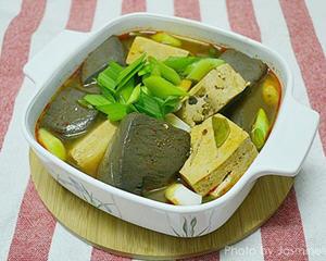 卤麻辣鸭血豆腐