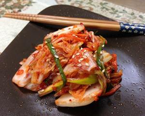 自制韩国大白菜泡菜