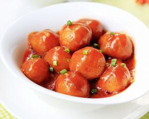 韩国酱烤土豆丸子