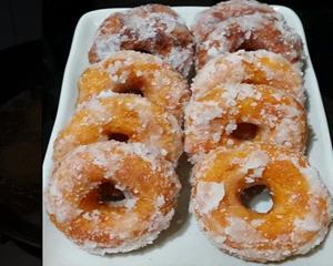 家常油炸甜甜圈