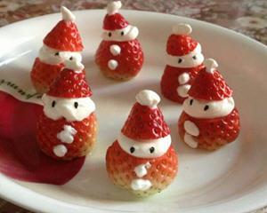 草莓圣诞老人,圣诞雪人