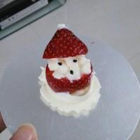 草莓圣诞老人、圣诞雪人的做法 步骤6