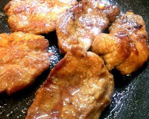 蜜汁烧肉片