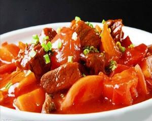 西红柿牛腩家庭版