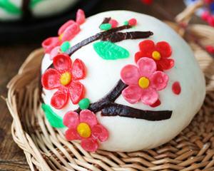 梅花报春来花馍:八珍盛宴迎春年菜