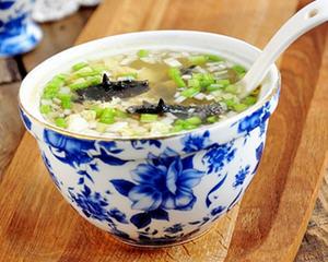 酸辣海参蛋花汤