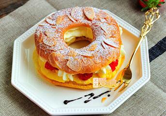 泡芙甜甜圈