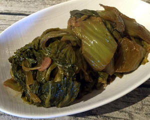 红烧长芥菜
