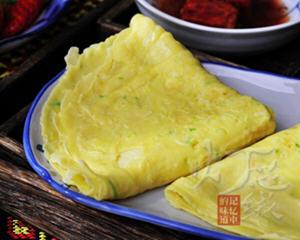 鸡蛋葱花薄饼(早餐饼)