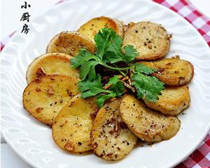 香煎杏鲍菇片