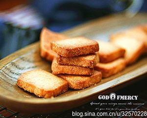 粗糖奶油酥饼(新手版)