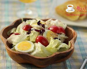 生菜鸡蛋沙拉