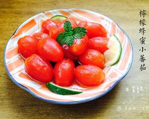 冰凉柠檬蜂蜜小番茄