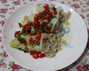 金针菇素菜卷(减肥瘦身)