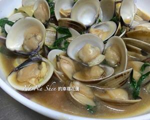 蚝油炒蛤仔